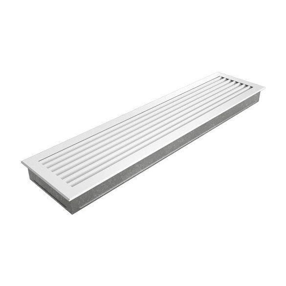 Fresh, modern 17x70 cm-es, szellőzőrács Fehér
