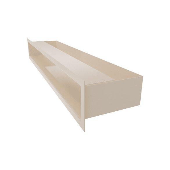Minimal, hátfalas 9x80 cm-es, résszellőző fehér
