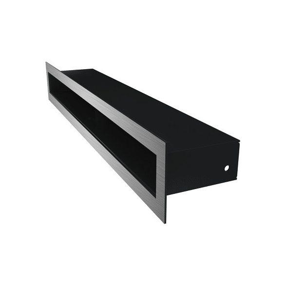 Tunel, minimal, inox, 6x80 cm-es, résszellőző